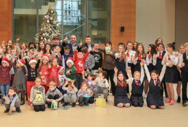 Благотворительное рождественское представление для детей