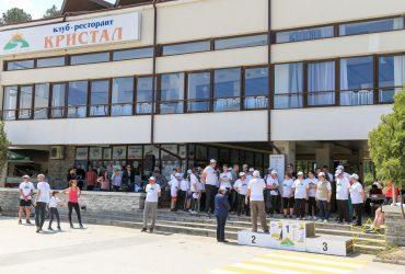71 годишен мъж пробяга  3км дистанция в крос посветен на 6 май