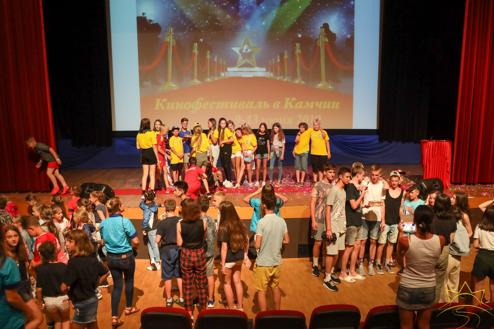 Первый детский кинофестиваль в Камчии!