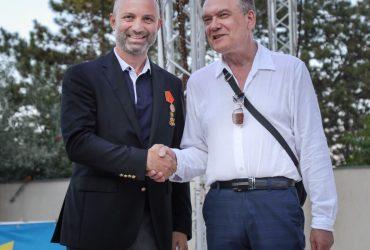 День русской культуры был ознаменован вручением памятной медали г-ну Н. Недялкову, исполнительному директору СОК «Камчия».