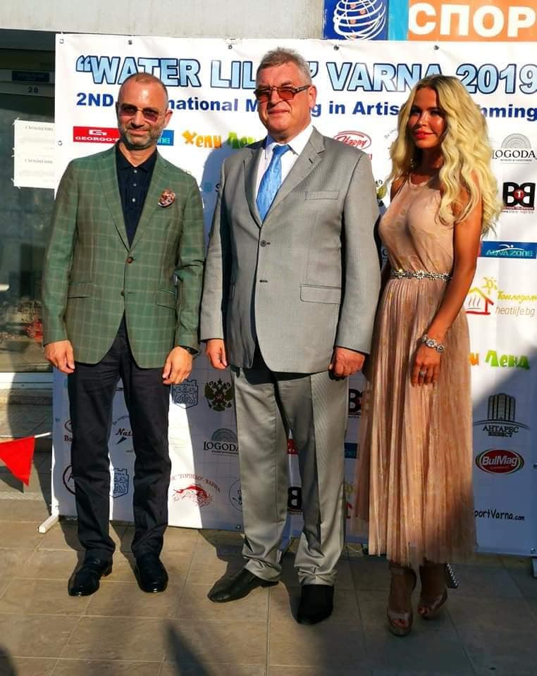Директор комплекса «Камчия» открыл Международный турнир по синхронному плаванию «Водная лилия»