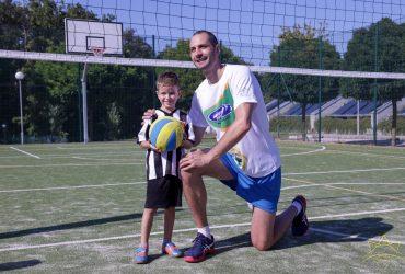 """Матей Казийски изненада децата от четвъртия Национален диабетен лагер """"Докосни дъгата"""""""
