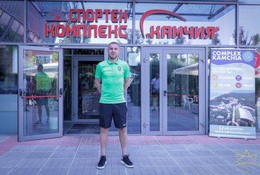 """Капитанът на """"Лудогорец"""", Козмин Моци – в """"Камчия"""""""