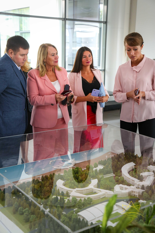 """Председателят на Съвета на директорите на училищата от Северен административен окръг в Русия – на визита в """"Камчия"""""""