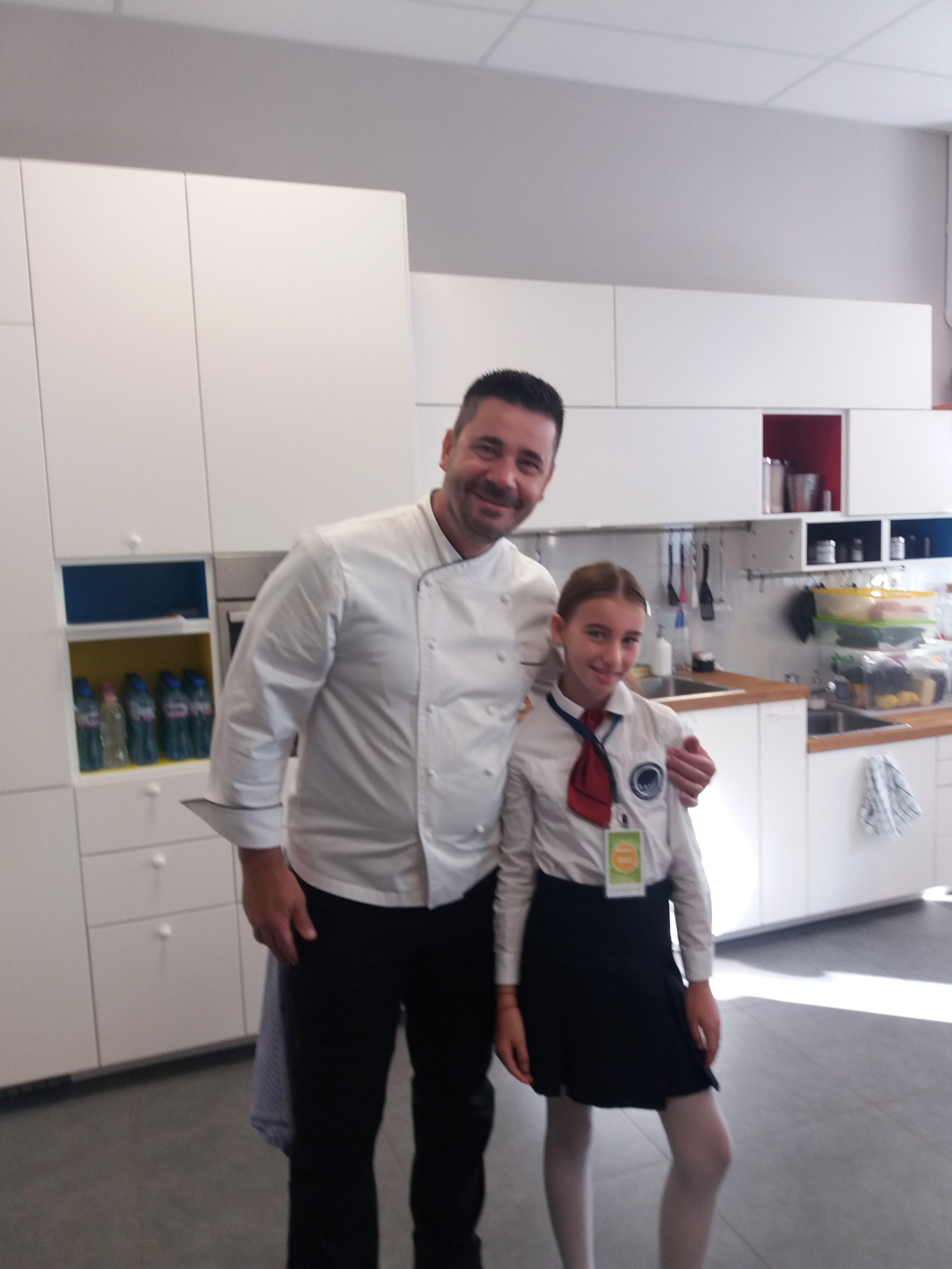 Mастер – клас с Шеф Виктор Ангелов
