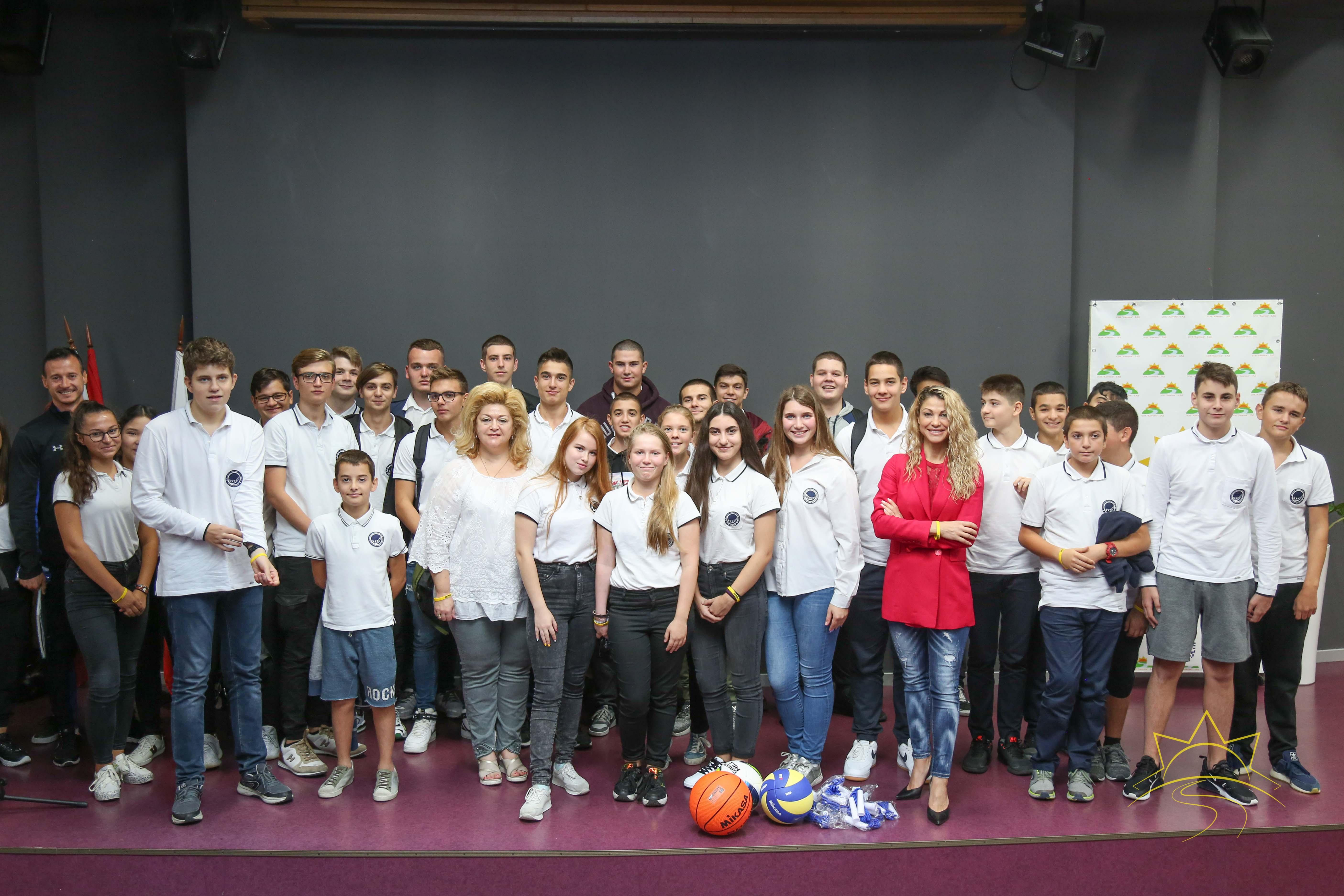 Среща на Гагаринци с представител на Министерството на младежта и спорта