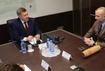"""Комплекс """"Камчия"""" обсъди възможности за сътрудничество с Новосибирск"""