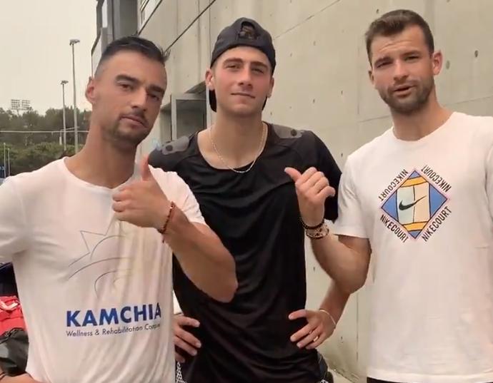 """Българският тенесист Димитър Кузманов ще се възстановява в Спортен комплекс """"Камчия"""" след ATP Cup!"""