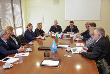 """На 13 февруари 2020г., в Камчия се състоя официална среща между дипломатически представители на РФ, Россътрудничество и ръководството на СОК """"Камчия"""" ЕАД"""