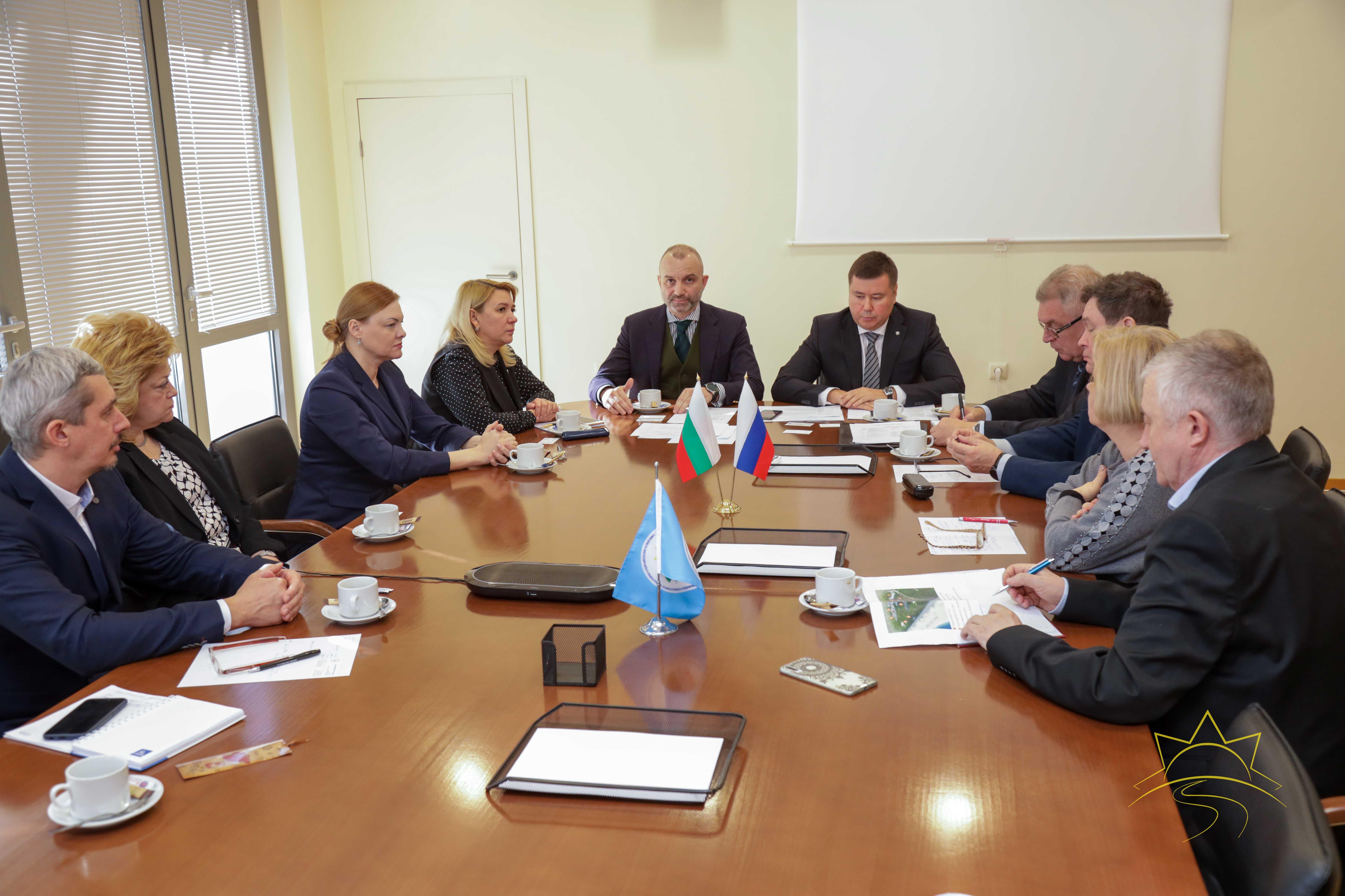 13 февраля 2020 г. в Камчии прошла официальная встреча представителей Дипломатических служб РФ и Россотрудничества с руководством Комплекса