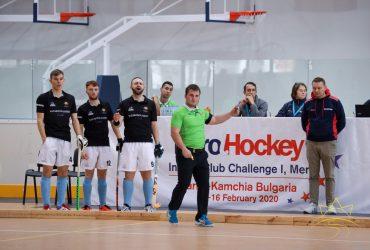 """В """"Камчия"""" започна Европейското клубно първенство по хокей в зала за мъже"""