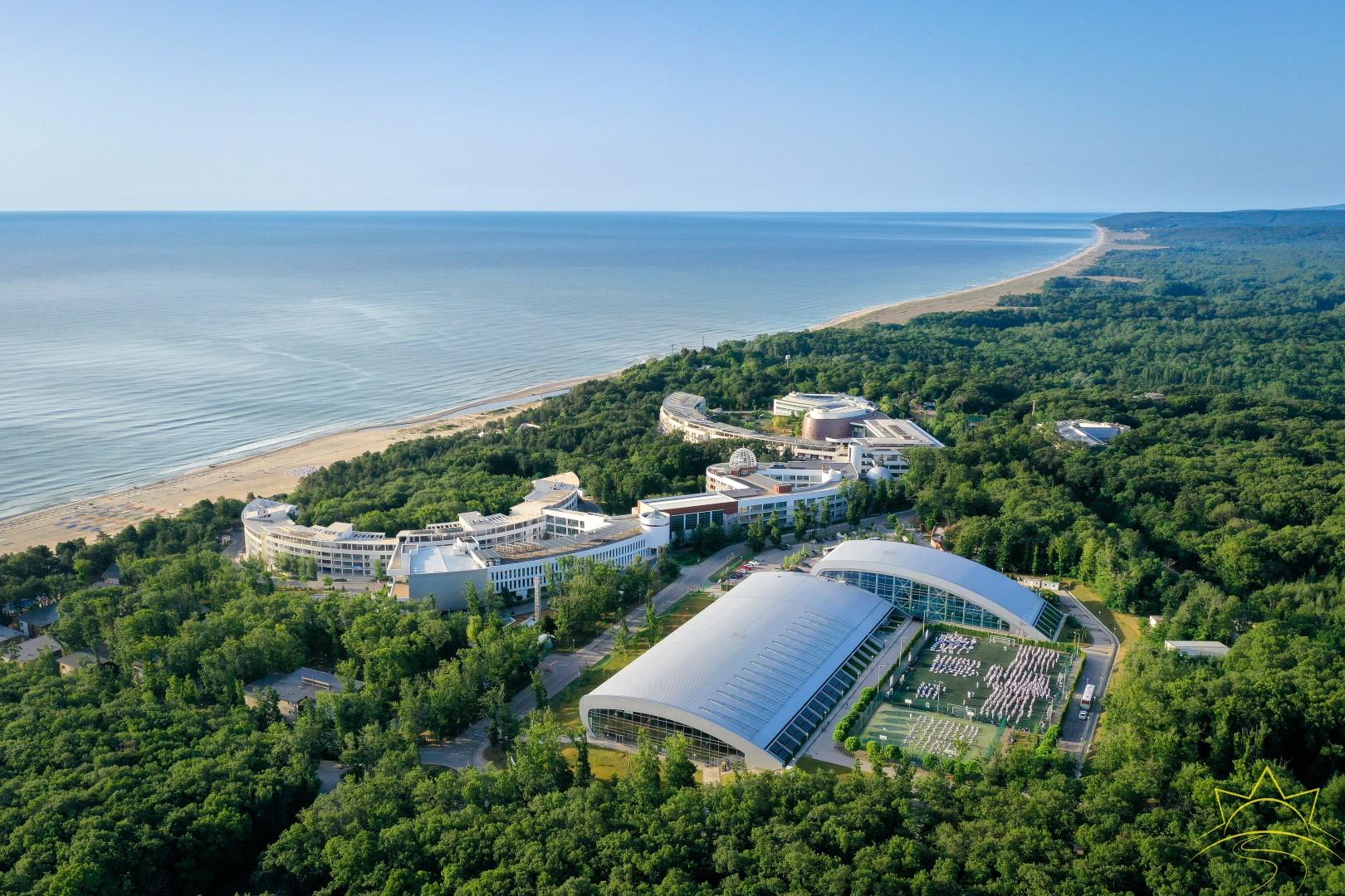 """Най-големият международен спортен комплекс в България – СОК """"Камчия"""", става иновативен град"""
