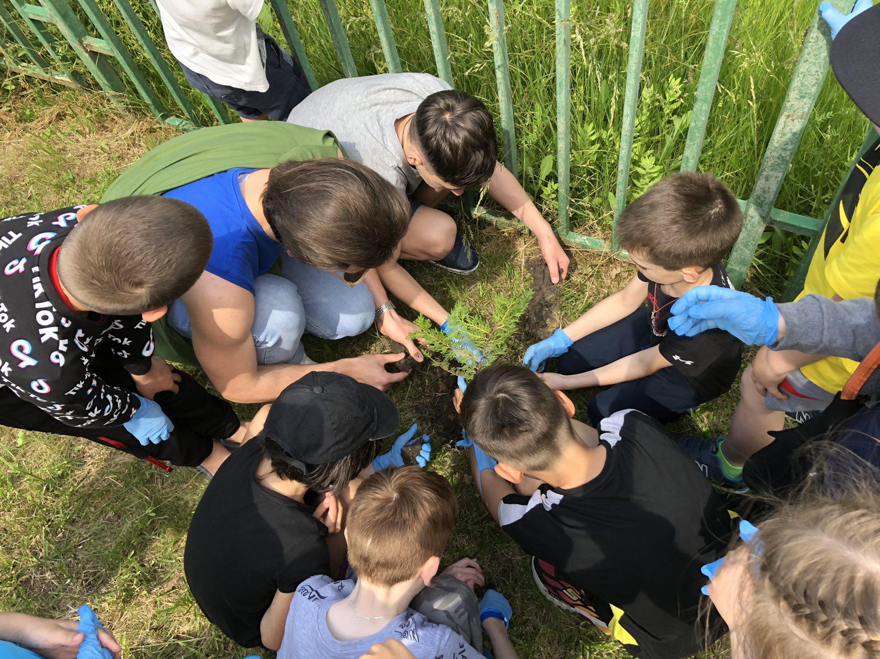 """30 нови дръвчета в """"Камчия"""" по повод Деня на околната среда"""