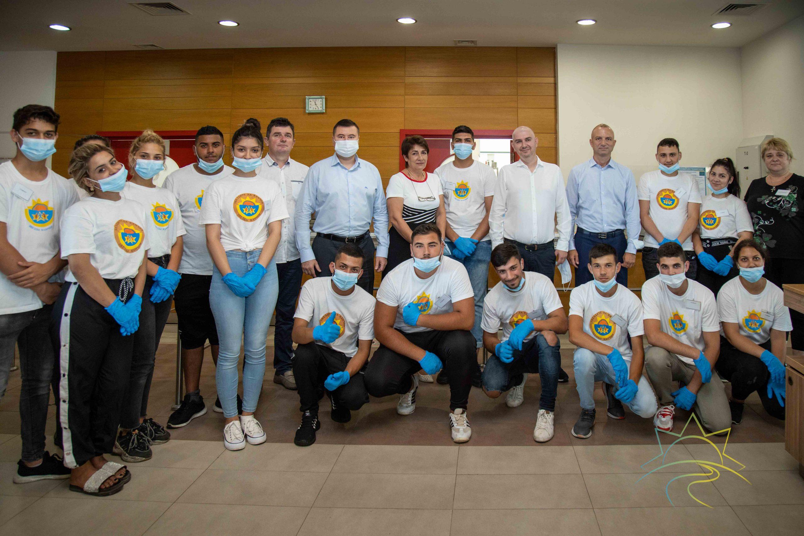 Юные авренцы дали старт программы стажировок в Камчии
