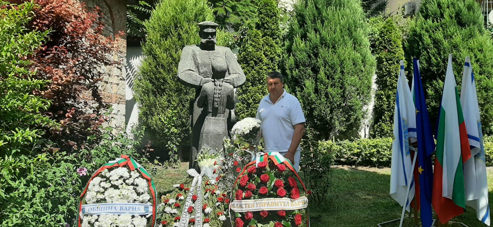 """""""Камчия"""" почете 143-та годишнина от  освобождението на Варна"""