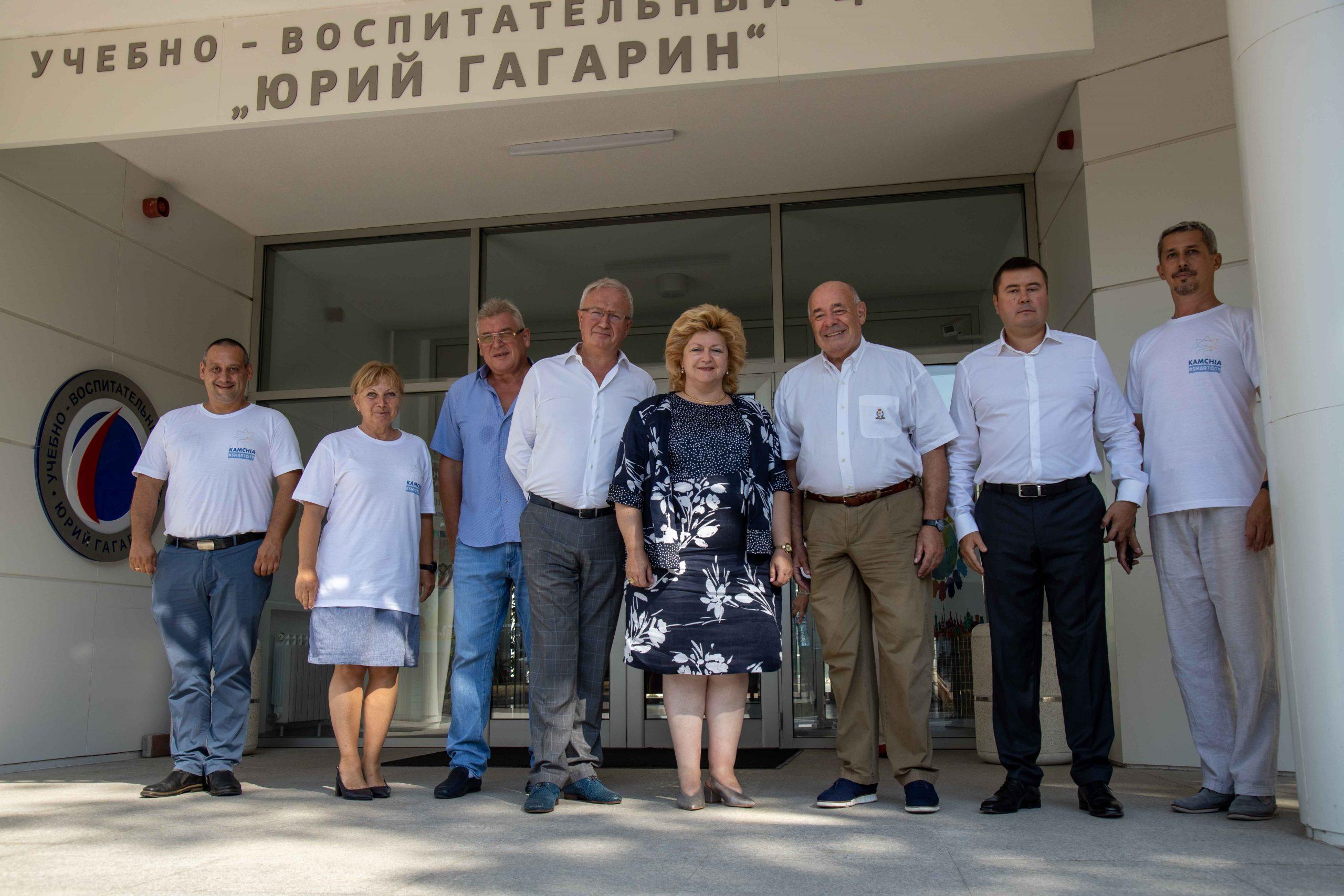 Михаил Швыдкой посетил объект Правительства Москвы, культурно-образовательный центр в Камчии