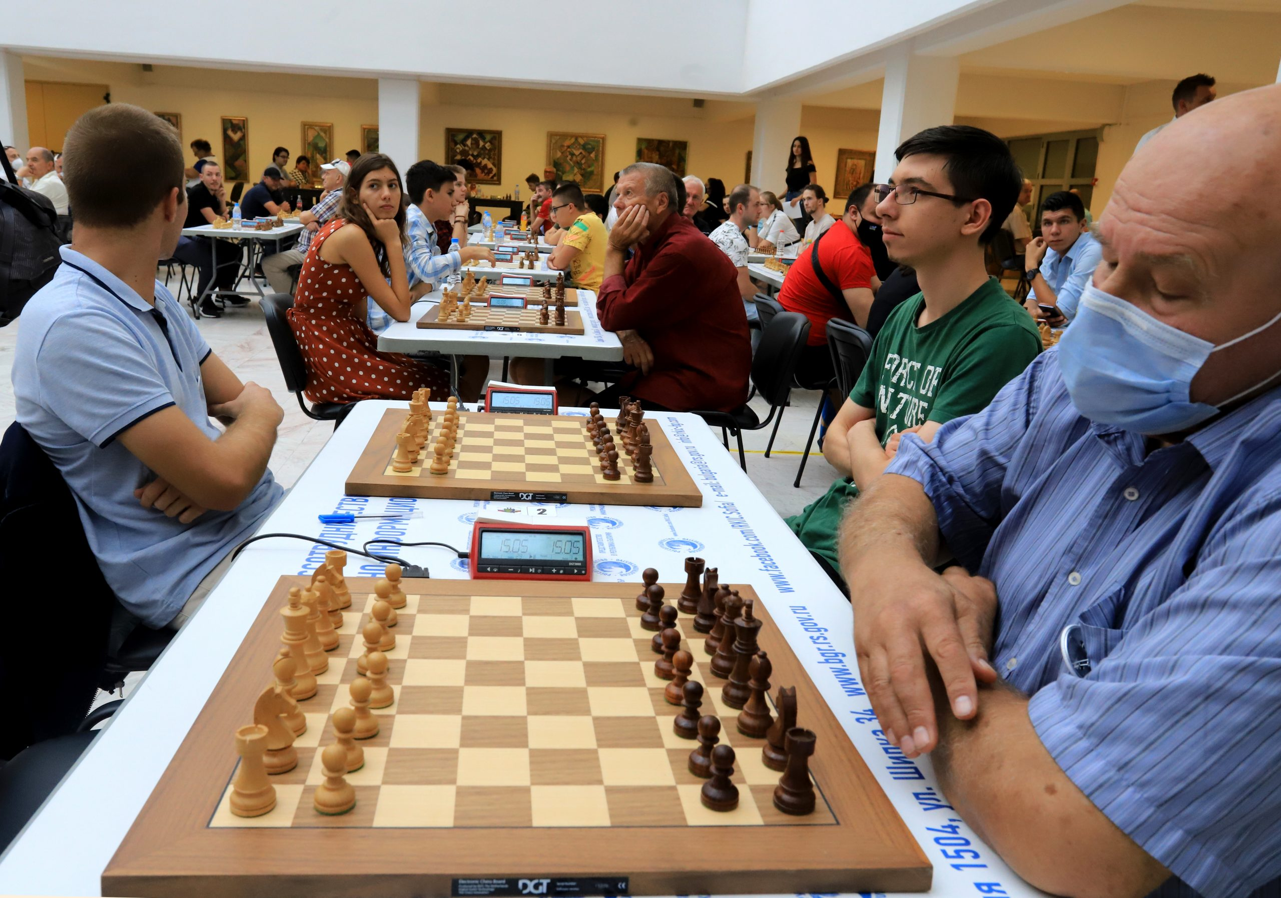 Комплекс «Камчия» приветствует участников шахматного турнира «Кубок посла России»